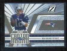 2005 Zenith Canton Bound #CB-9 Tom Brady football card