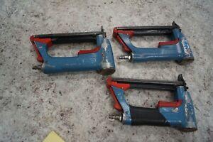 3x BeA 71/16-421 Upholstery Staple Gun Stapler used