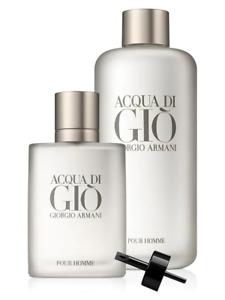 Giorgio Armani Acqua Di Gio MEN'S EDT 2-Piece Set 250 ML/8.5 OZ Limited Edition