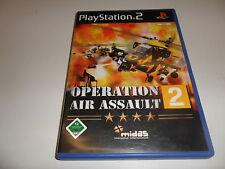 Playstation 2 PS 2 operation Air Assault 2