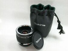 RMC Tokina 2X Teleconverter, Doubler For Olympus OM System  + Case No. 8303014