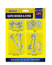 GATE HOOKS EYES DOORS LATCHES LOCKS DRAWERS CABINETS INDOOR OUTDOOR STOP OPENING