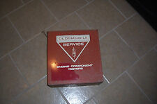 Oldsmobile Service Engine Component Tester Box Vintage Dealership Collectible GM