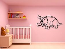 Wall Stickers Vinyl Decal Funny Dinosaur Decor for Kids Room (ig805)