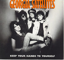 THE GEORGIA SATELLITES  Keep Your Hands To Yourself  45 with PicSleeve