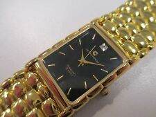 A70 NEW JB CHAMPION Gold Dress Stainless Steel Band WATCH Square VINTAGE Dress