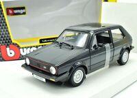 MODELLINO AUTO VW GOLF MK1 GTI SCALA 1:24 CAR MODEL DIECAST BURAGO COCHE