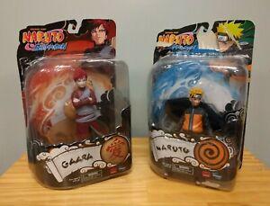 2x New Naruto Shippuden Series 2 Gaara Toynami 6-Inch Action Figures 2002