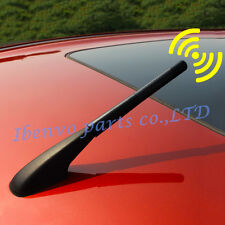 120mm Black 3 Interface Amplifier Amp Aerial FM AM Roof Radio Antenna Car Signal
