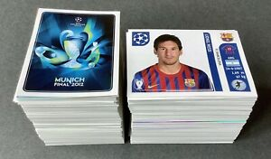 550+ Panini Champions League 2011/12 Football Stickers # Mint Condition