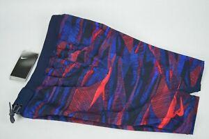 NWT $64! Mens Nike Repel Swim Trunks sz S-L Multi blue black university red