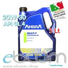 AMBRA MULTI F 20W30 5 litri OLIO MULTIFUNZIONE CAMBIO SOLLEVATORE TRATTORE