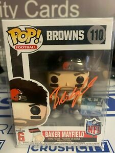 Baker Mayfield Autograph/Signed Cleveland Browns Funko Pop #110