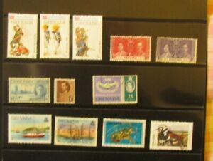 Grenada Postage Stamps 12 mixed stamps