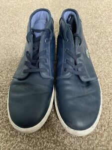 Mens Lacoste Ankle Boots