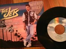 """THE JETS 45 RPM """"Cross My Broken Heart"""" from Beverly Hills Cop II w/ pic sl VG+"""