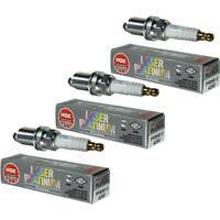 3X NGK Laser Platinum Premium Zündkerze 4292 Typ PFR5R-11 Zünd Kerze