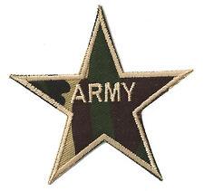 Patch écusson patche Army Star armée militaire NagaPatches thermocollant
