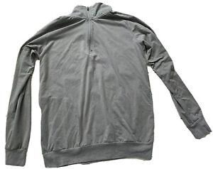 Travis Mathew Mens Pullover Sz Medium Long Sleeve 1/4 Zip Long Sleeve Gray Golf