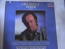 LEO NUCCI VERDI ARIAS LONDON DIGITAL N/M LP # 410159-1 NATIONAL PHILHARMONIC