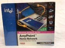 Sealed Box Intel AnyPoint Wireless Home Network 1.6M PC Card Adapter