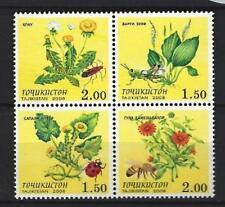Tadjikistan 2008 insectes n° 393 à 396 neuf ** 1er choix