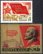 Russia 1981 Lenin/Spassky Tower/Congress Hall/Buildings/Architecture 2v (n44195)