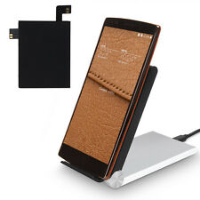 Qi Wireless Charging Sticker Receiver W/NFC IC Chip For LG G4 F500 H815 VS986
