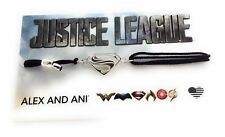 Alex and Ani SUPERMAN Kindred Cord Justice League Bracelet Sterling Silver NWTBC
