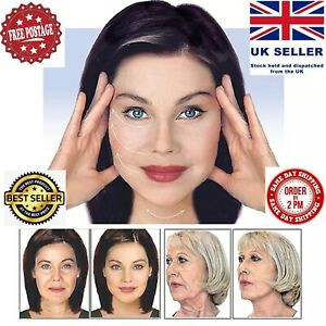 40PC Set Instant Face Neck Eye Facelift V Shape Slim Tapes Anti- Wrinkle