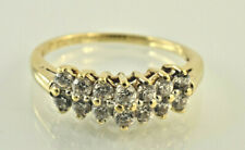 Cubic Zirconia Band in 10kt Yellow Gold