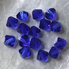15 Perles Cristal -TOUPIES SWAROVSKI - DARK INDIGO   288  - 6 mm