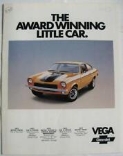 CHEVROLET Vega Sales Brochure Jan 1973 USA #2229 Rev