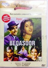 Beqasoor (1950) - Madhubala, Ajit - Hindi Movie DVD ALL/0 English Subtitles