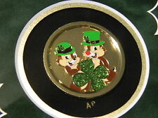 Disney WDI CHIP & DALE St. Patrick's Day AP Pin Framed