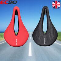 EC90 Saddle MTB Road Bike Leather Steel Bow Sports Gel Pad Cushion Seat Cover