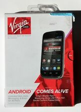 BRAND NEW ZTE Awe N800 - 4GB - Black Virgin Mobile Smartphone ZTEN800AVB