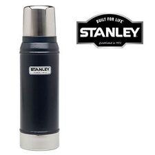 Nuevo Stanley 0.473ML Botella Termo Azul Marino vacío aislado matraz bebidas calientes