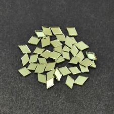 Shisha Mirrors for Embroidery and Craft Purpose, Diamond Shape, 4*7 Mm, 100 Pcs