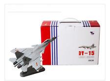 Terebo 1/100 PLA J-15 Flying Shark China Air Fores Flight Decast Model Gray