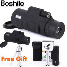 10X42 Boshile Zoom Lens Night Portable Travel Vision HD 4 Monocular Telescope UK