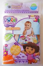 Nickelodeon Dora the Explorer Disposable Placemats - Package of 18