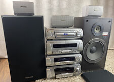 Technics Stereo System DV280 DVD CD Hi-Fi SB-3110 Speakers Surround Sound