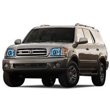 Toyota Sequoia 01-04 CHS Bright Blue LED Headlight Halo Ring Kit