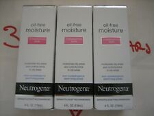 3 Pack Neutrogena Oil Free Moisture Combination Skin 4 Oz Each New