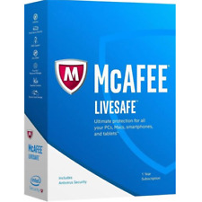 McAfee Internet Security 2019 1MULTIDEVICE 1YEAR GLOBAL ACTIVATION NOT 2018