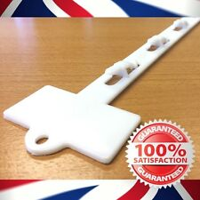 12 Position Injection Moulded Clip Strip with Header panel 25 pieces FREE P&P!