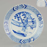 Ca 1700 Kangxi Period Chinese Porcelain Plate Garden Liza Chenghua Marked China