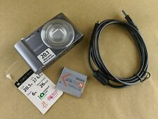 Sony DSCW810 Cyber-Shot 20.1MP Digital Camera 6x Optical/12x Digital - Silver