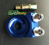 GPI Aluminum AN10 Oil Filter Cooler Sandwich Plate Adapter Oil Adapter col